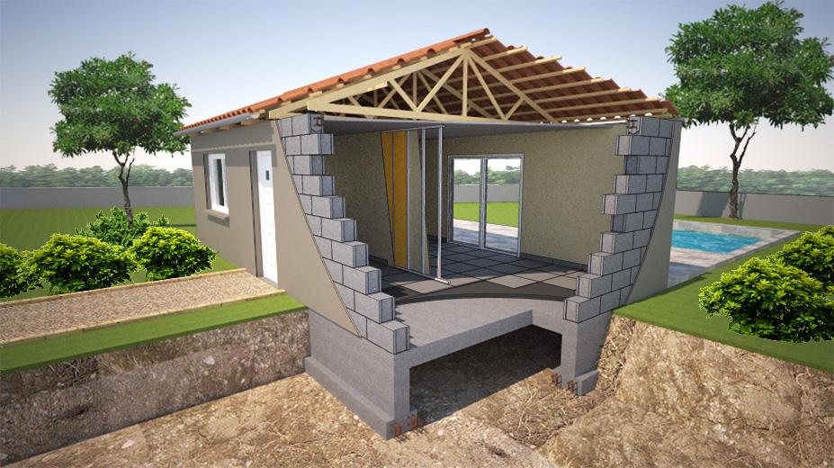 Faire construire sa maison dans le sud deco fun - Faire le tri dans sa maison ...